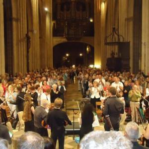Concert Apaul'hom à Bayonne, nombreuse assistance