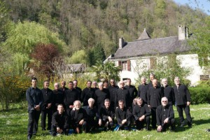 Le groupe Apaul'hom en 2013  à Sarrance
